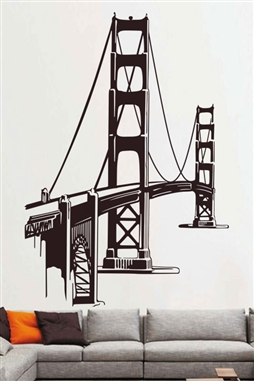 Wall Decals  Sightseeing Bridge
