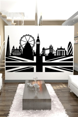 Wall Decals  London Skyline