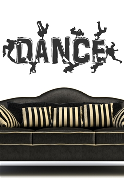 Wall Decals  Break Dance 3