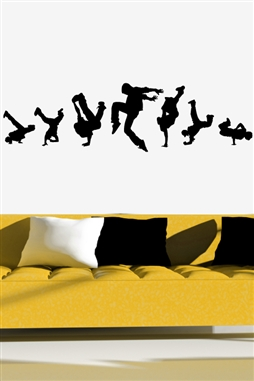 Wall Decals  Break Dance 2