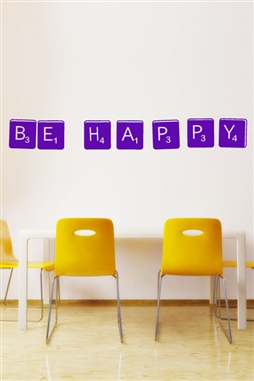 Wall Decals  Be Happy