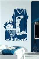 Wall Decals  Basketball Composition