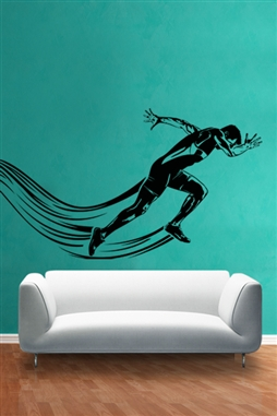 Wall Decals  Sport Runner