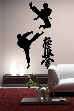 Wall Decals  Asian Sport Fighting
