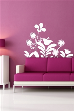 Wall Decals  Graphic Floral Bouquet