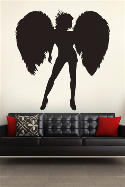 Wall Decals  Flirty Angel