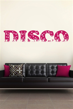 Wall Decals  Disco