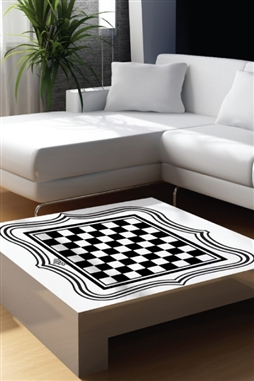 Chess Board Wall Decals