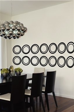 Rolling Circles Wall Decals