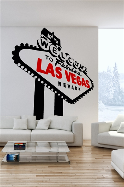 Wall Decals  Las Vegas Sign