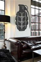 Grenade Wall Decals