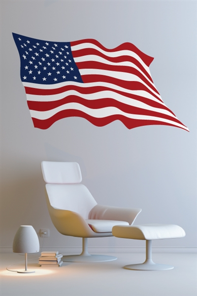 American Flag Wall Decals