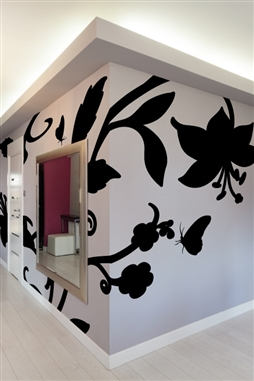 Wall Decals Baroque Flower