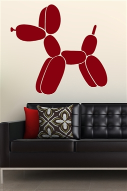 Balloon Dog Wall Decals