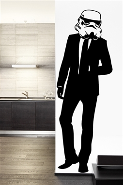 Suit Trooper Wall Decals