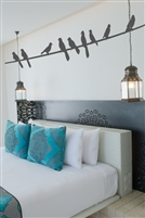 Birds on a Wire Wall Decals