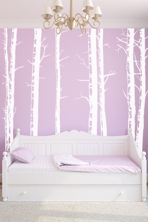 Wall Decals Birch Trees Art Without Boundaries