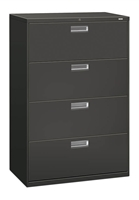 HON Brigade Lateral 4 Drawer Filing Cabinets