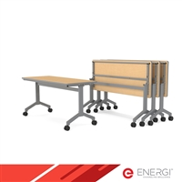 "ENERGi RATIO Flip Top Tables - 24""D x 60""W"