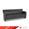 ENERGi - 807-3 Sofa - Black Leather