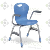 "ZUMA Series Stacking Chairs - 15"" - With Arms"
