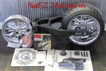 08-2013 Hayabusa Complete 330 SCD(Single Chain Drive) Custom Fat Tire Kit w/Spinner Wheels!  In Stock!