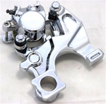 Chrome Hayabusa Rear Brake Caliper & Hanger