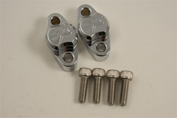 Chrome Brake & Clutch Mastercylinder/Reservoir Clamps