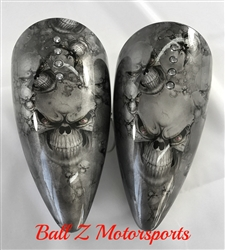 Multi Skull ST Machine Pig Spotter 2 Mirrors