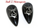 Custom ST Machine Pig Spotter 2 Mirrors Tribal Tattoo Design