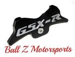 Black/Silver 07-08 GSXR 1000 Engraved Front Center Tank Pad