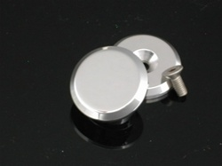 Smooth  Exhaust Mount Cap/Peg Plug