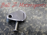 ZX-14 Hayabusa GSXR 600/750/1000 Smooth Chrome Front Sprocket Speed Sensor Switch Cover