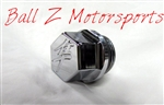 Chrome Hayabusa 3D Hex Engraved Kanji Oil Cap