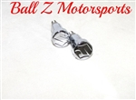 "Chrome Engraved ""S"" Logo GSXR Seat Thumbscrew Bolts"
