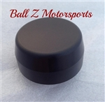 06-07 GSXR 600/750 Custom Black Anodized Smooth Triple Tree Nut/Yoke Cap