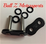 530ZVX3-MLJ/K EK ZVX3 X-Ring Rivet Masterlink for 530 Pitch Black Premium Motorcycle Chains