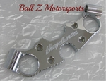 Hayabusa Chrome Engraved Lowering Triple Tree w/Ball Cut Edges