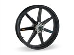 Brock's Performance Front Wheel 3.5 X 17 BMW HP2 MegaMoto (2008-09) 7 Straight Spoke
