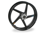 Brock's Performance Front Wheel 3.5x17 Triumph Speed Triple 1050 (06-07) 5 Spoke Swept
