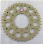Renthal Ultralight Kawasaki Hard Anodized 40 Tooth 525 Pitch Rear Sprocket