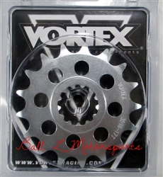 1998-2014 Yamaha YZF-R1 17 Tooth 530 Pitch Vortex Racing Front Sprocket (3516-17)
