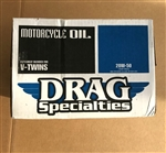 1 Case (12 quarts) Drag Specialties 20W-50 Motorcycle Oil