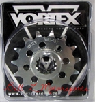 2006-2016 Yamaha YZF-R6 15 Tooth 525 Pitch Vortex Racing Front Sprocket (3660-15)