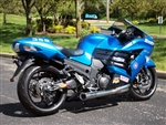 "Brock's Performance TiWinder Polished 18"" Muffler Race Baffle Kawasaki ZX-14 (06-12) Full Exhaust System"