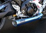Brock's Performance Tiwinder Blue Race Baffle Suzuki GSX-R1000 (07-08) Exhaust System