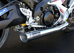 Brock's Performance Tiwinder Polished Race Baffle Suzuki GSX-R1000 (07-08) Exhaust System