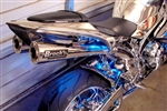 "Brock's Performance Short Meg Dual Undertail 14"" Muffler Yamaha R1 (07-08) Exhaust System"