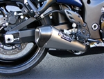 "Brock's Performance CT Single 17"" Muffler Busa Suzuki Hayabusa (08-16) Exhaust System"