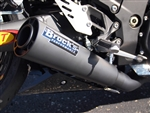"Brock's Performance Short Meg2 Black 14"" Muffler Kawasaki ZX-14 (12-15) Exhaust System"